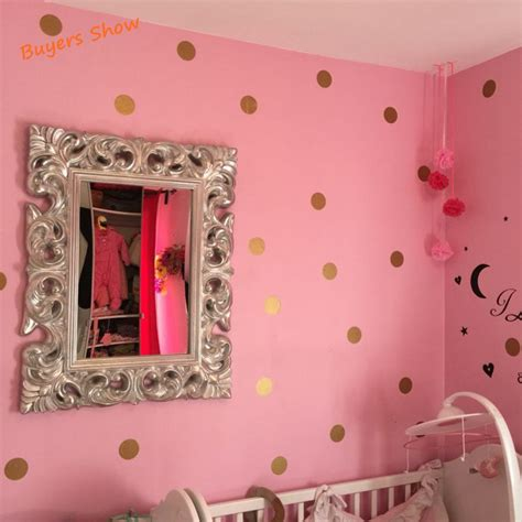 peel and stick wall decals polka dot wall sticker gold wall decal peel and stick