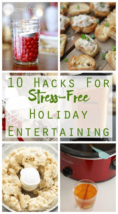 entertaining hacks 10 hacks for fun stress free holiday entertaining 183 one