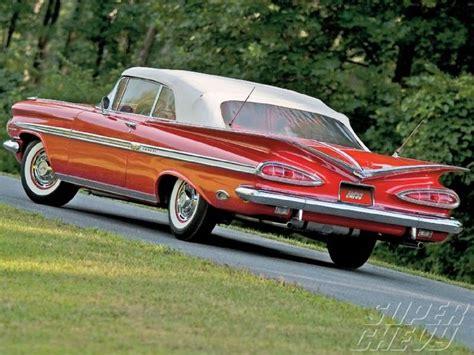 59 chevy impala convertible vintage vehicles