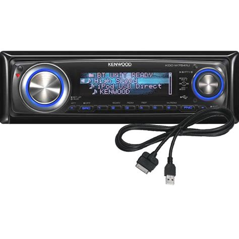 Kenwood Cd Mp3 Usb kenwood kdc w7041u cd mp3 usb car stereo with ipod kit kdc w7041u kca ip100 from kenwood