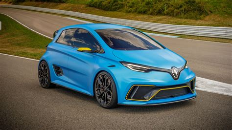 renault zoe renault zoe e sport concept 2017 review by car magazine