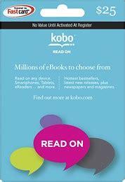 Check My Kobo Gift Card Balance - kobo 25 gift card kobo 25 e best buy