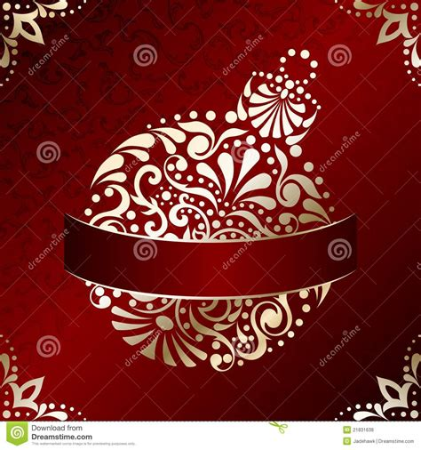Superb Burgundy And Gold Christmas Ornaments #2: Elegant-christmas-card-filigree-ornament-21831638.jpg