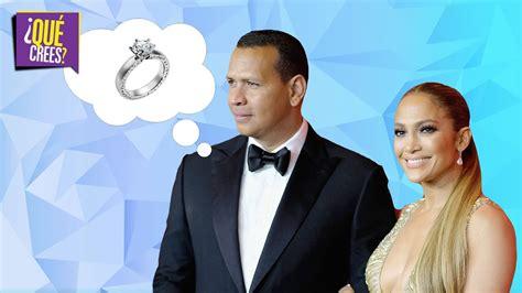 ¿Y el anillo pa' cuando?: Alex Rodriguez le responde a su ... J 16