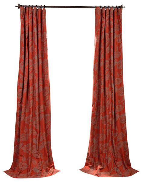 bali drapes bali red printed cotton curtain contemporary curtains