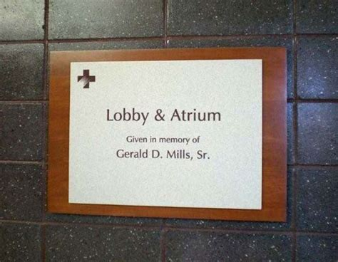 corian hearth naming dedications and plaques products recognition awards