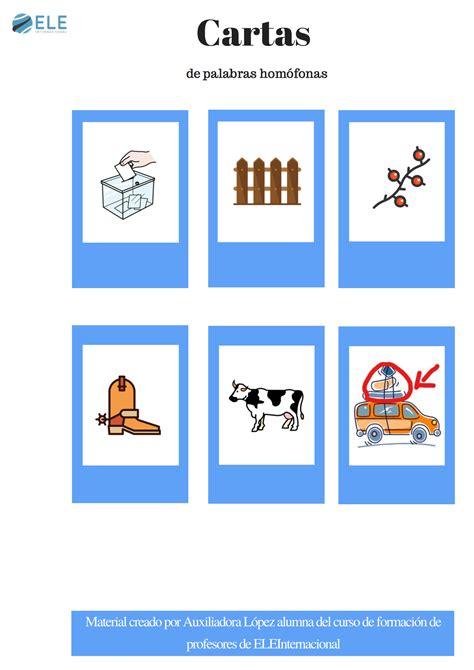 cartas letters el cartas de palabras hom 243 fonas http www eleinternacional com cartas de palabras homofonas