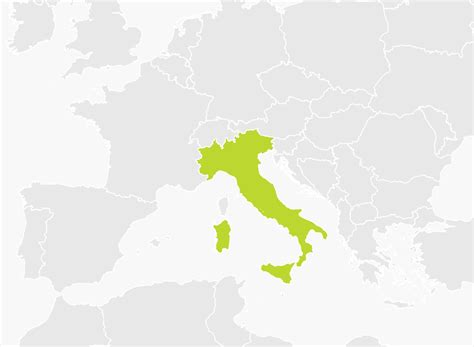 of map map of italy tomtom