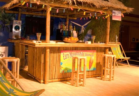 diy build your own tiki hut and tiki bar kit around the