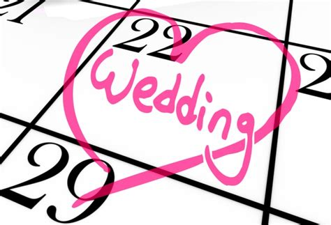 Wedding Checklist With Dates by 5 Things To Consider When Choosing Your Wedding Date