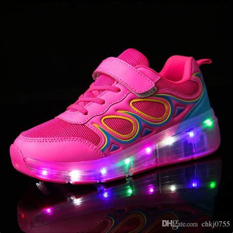 Sepatu Led Shoes Junior 2018 2017 junior boys led light heelys children