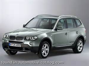 2007 bmw x3 2 0d since mid year 2007 for europe specs