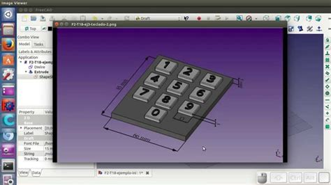 tutorial freecad youtube tutorial freecad t2 18 34 draft texto 3d youtube