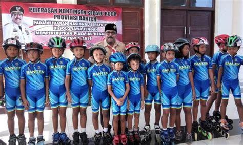 Sepatu Roda Di Jawa Timur rano karno lepas 14 pesepatu roda banten ke
