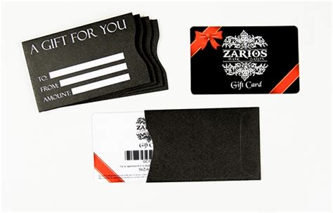 Personalized Gift Card Sleeves - gift card holders sleeves envelopes custom gift card accessories from plastic