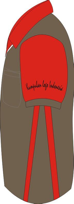 contoh desain kaos berkerah kumpulan logo indonesia