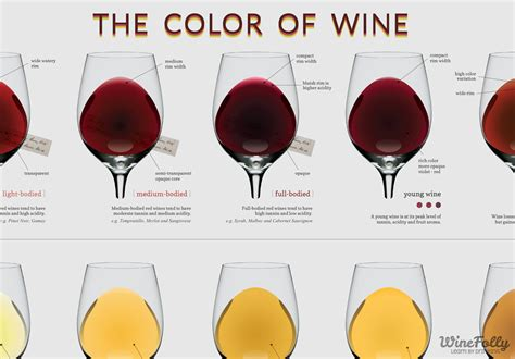 what color is wine the wine color chart wine folly