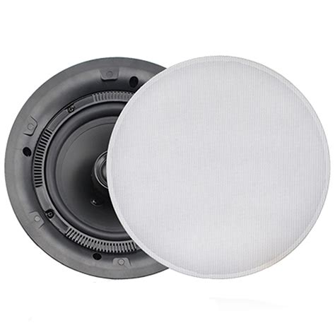 Flush Mounted Ceiling Speakers by Fusion Ms Cl602 Flush Mount Interior Ceiling Speaker