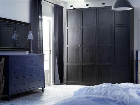 Ikea Pax Black Brown Wardrobe - pax black brown wardrobe with hemnes black brown doors and