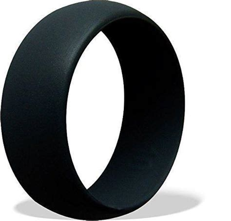 silicone rubber wedding band ring