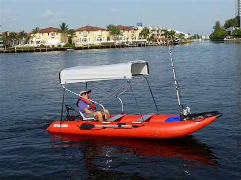 kayak boats new 2 bow bimini top sun shade for boats kayaks canoes
