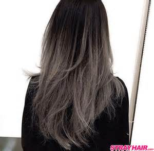 coloring ombre hair gorgeous gunmetal gray hair strayhair