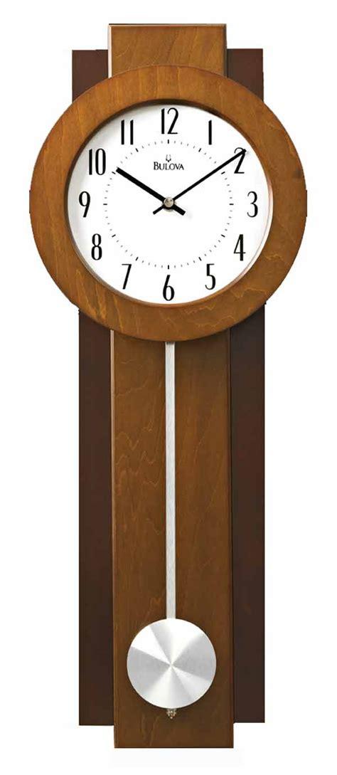 Modern Contemporary Wall Clocks by Bulova C3383 Avent Contemporary Wall Clock The Clock Depot