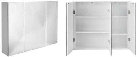 3 door mirrored bathroom cabinet top 10 best bathroom mirror cabinets single and
