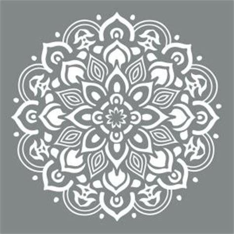 tattoo stencil paper michaels decoart americana decor 10 in x 10 in mandala stencil