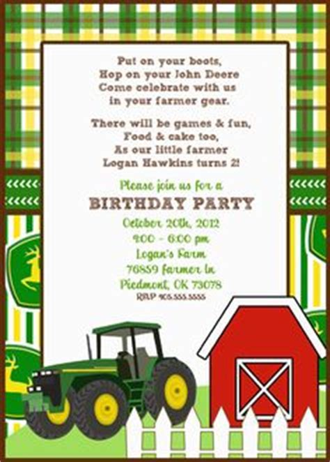 john deere printable birthday invitations printable baby shower invitation tractor theme john