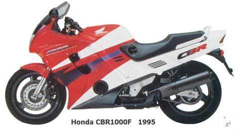 Honda Cbr1000f 1995
