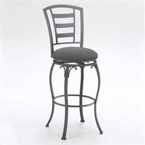 Black Swivel Bar Stool Hillsdale Wallace 24 Quot Swivel Metal Counter Black Bar Stool Ebay