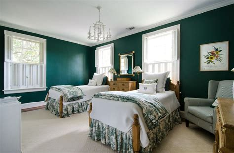 bedroom with green walls decorating ideas for dark colored bedroom walls