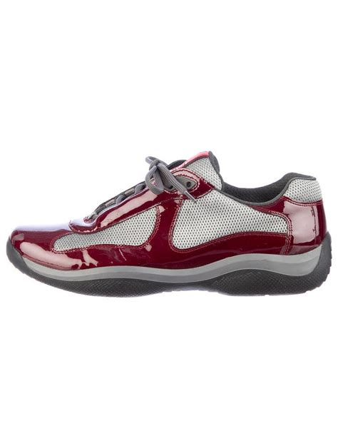 prada athletic shoes prada sport sneakers shoes 0wr01284 the realreal