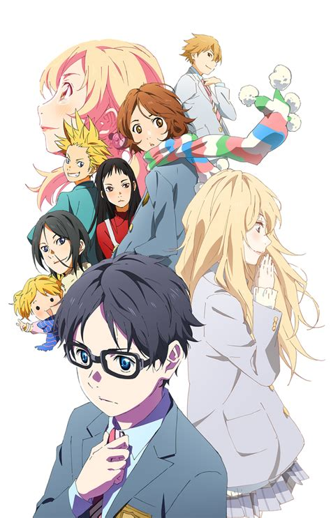 anime your lie in april crunchyroll quot your lie in april quot part 2 anime visual goes
