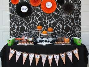 How To Decorate A Halloween Party Halloween Party Ideas