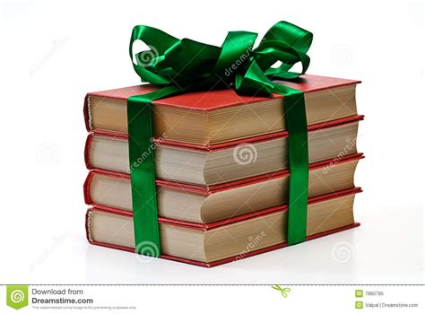 little gifts for book club day gift book isolated stock image image 7860795