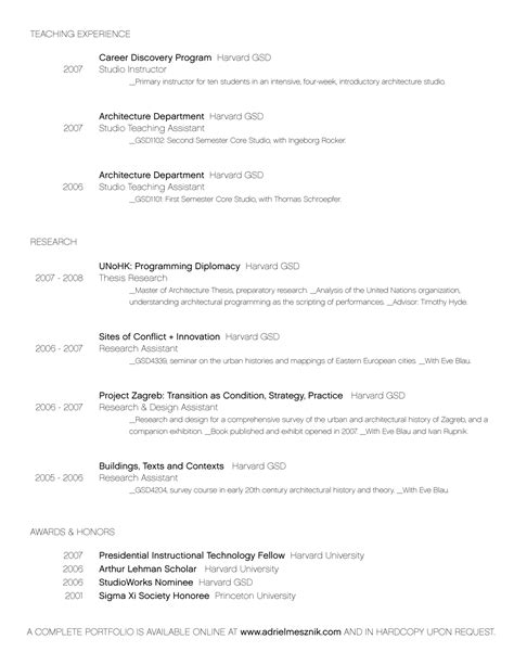 architecture intern resume sle architecture intern resume sle 54 images career