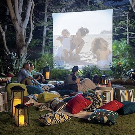 backyard movie projectors 7 easy tips for backyard movie theater home design and