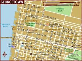 georgetown map map of georgetown