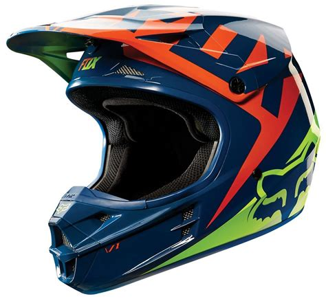 fox helmet 169 95 fox racing v1 race helmet 205089