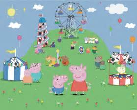Wall Murals B Q Peppa Pig Wall Mural Departments Diy At B Q