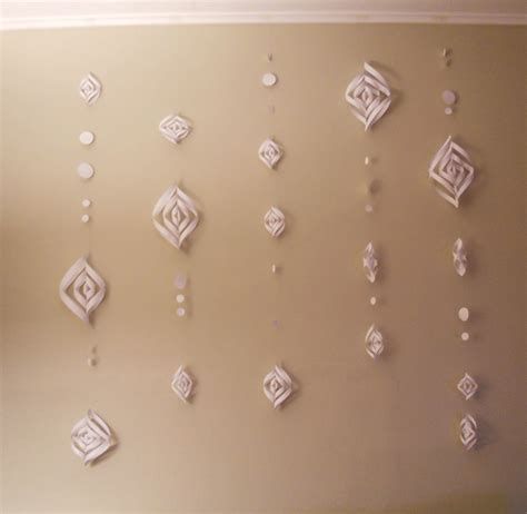 How To Make A Paper Snowball - hoping for rocketships paper snow