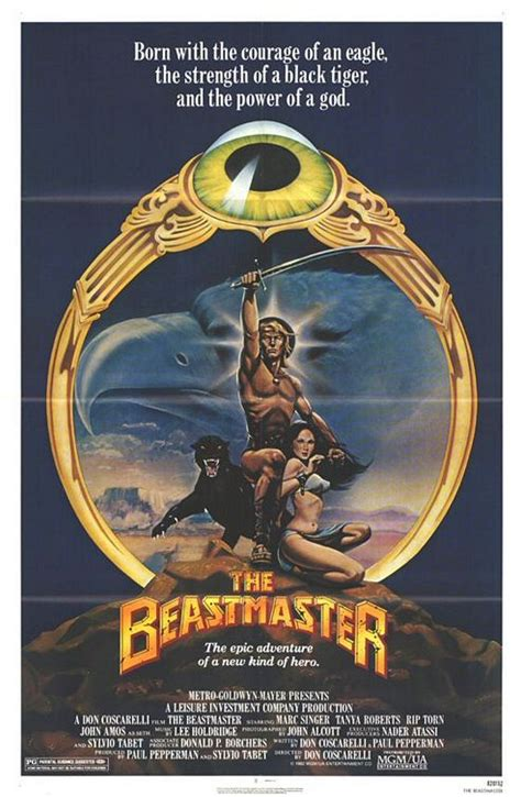 The Beast Master peter s retro reviews the beastmaster 1982