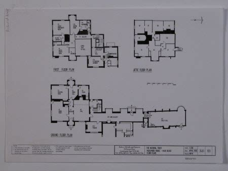 harlaxton manor floor plan results for floor plan national trust collections