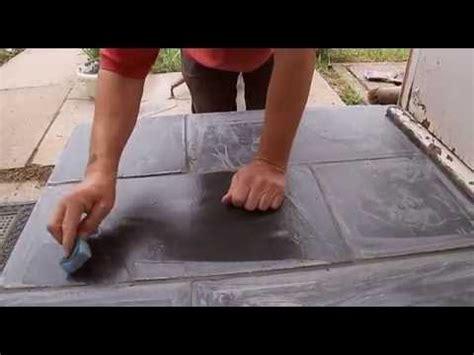 how to lay slate floor tiles youtube