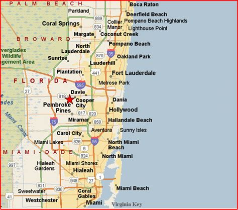 Palm County Florida Search Dade County Florida Pipeline Map Images