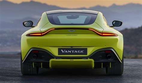 lime green aston martin 2018 aston martin vantage revealed looks