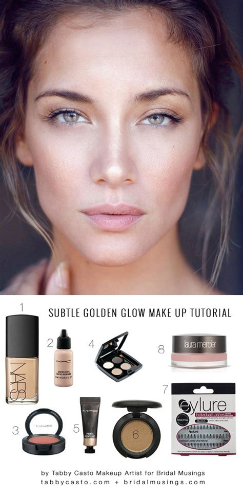 tutorial makeup glowing natural wedding make up tutorial by tabby casto make up artist