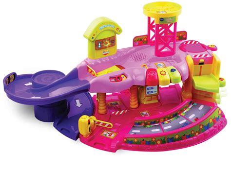 V Tech Toot Toot Garage by Vtech Toot Toot Garage 2014 Pink Buy At Kidsroom De